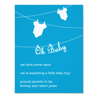 Oh Baby! Pregnancy Announcement