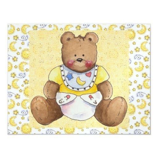 Oh Baby! SRF 4.25x5.5 Paper Invitation Card