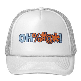 Oh Bad Curse Word Hat