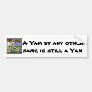 OH! BAMA  Brand YAMS Car Bumper Sticker