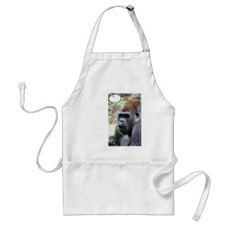 Oh bananas! Great Ape Adult Apron