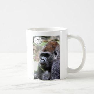 Oh bananas! Great Ape Classic White Coffee Mug