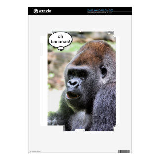 Oh bananas! Great Ape Skins For The iPad 2