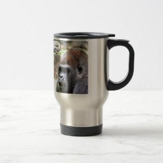 Oh bananas! Great Ape Travel Mug