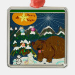 Oh Beary Night Holiday ornament