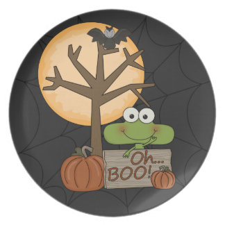 Oh Boo Dinner Plate