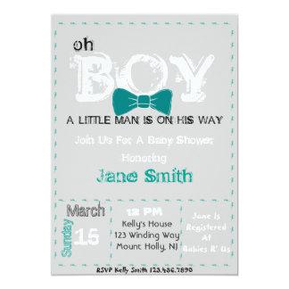 Oh Boy Baby shower invite