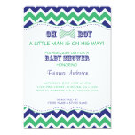 OH BOY Bow Tie Baby Shower Invite