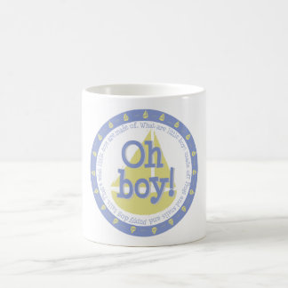 Oh Boy! It's A Boy Mug