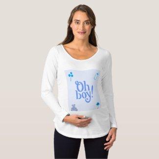 Oh Boy Maternity T-shirt