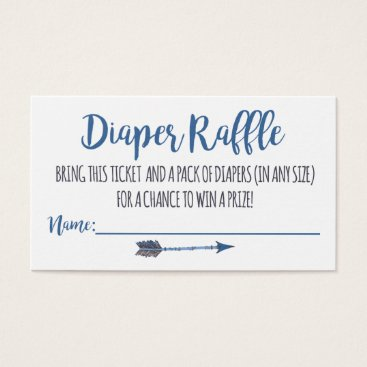 Charmworthy Oh Boy Tribal Diaper Raffle Tickets