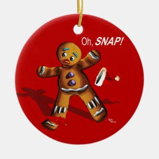 ¡Oh broche El navidad adorna el rojo Adornos