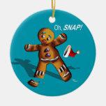 ¡Oh broche! El navidad adorna (el trullo) Ornamento De Navidad