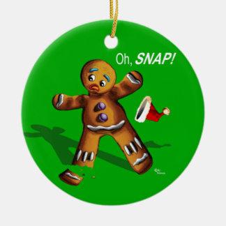 ¡Oh broche El navidad adorna el verde Ornamentos De Reyes Magos