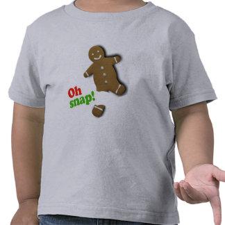 Oh broche - humor del día de fiesta camisetas