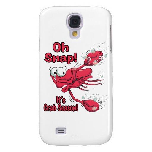 oh broche su cangrejo asustado divertido de la est