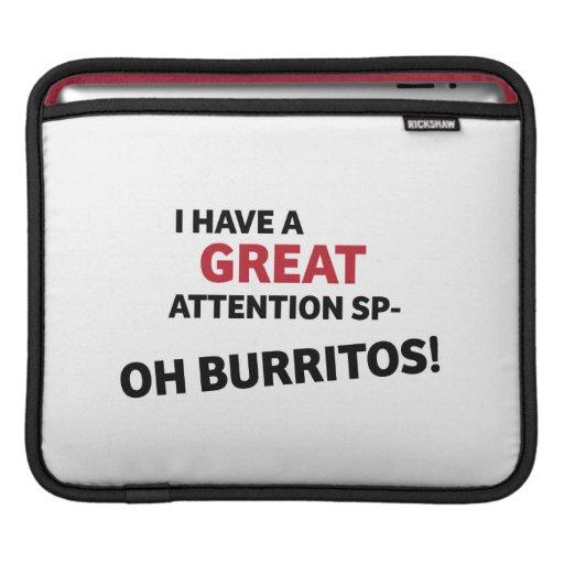 Oh Burritos! Sleeve iPad Sleeve