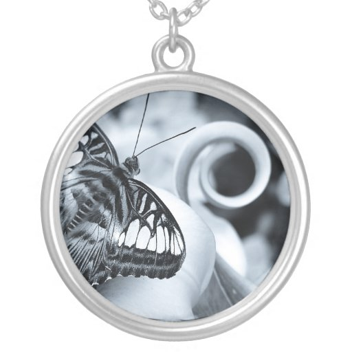 Oh Butterfly ~Lovely Sterling Silver Necklace Pendant