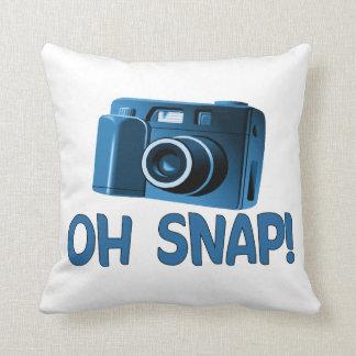 Oh cámara rápida almohada