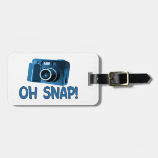 Oh cámara rápida etiquetas bolsas