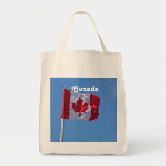 Oh Canadá Bolsa Tela Para La Compra