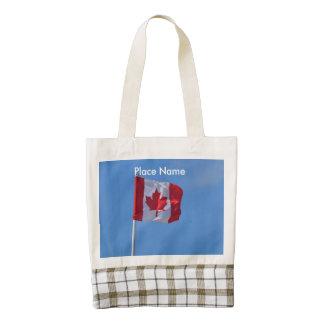 Oh Canadá Bolsa Tote Zazzle HEART