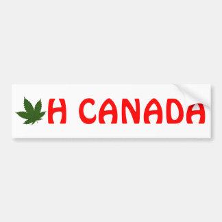 Oh Canada Bumper Sticker