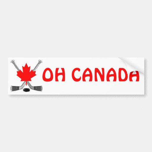 OH CANADA BUMPER STICKERS