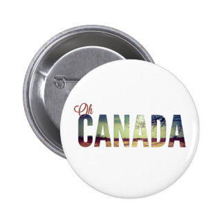 Oh Canada Buttons