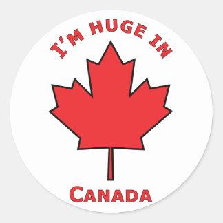OH Canada! Classic Round Sticker