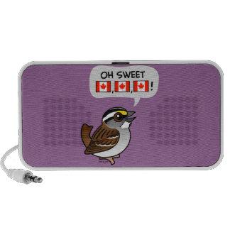 Oh Canadá dulce iPod Altavoz