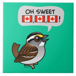 Oh Canadá dulce Tejas Cerámicas