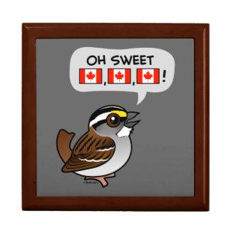 Oh Canadá dulce Cajas De Joyas