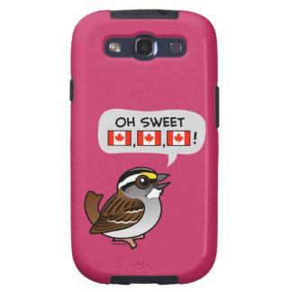 Oh Canadá dulce Samsung Galaxy S3 Carcasa