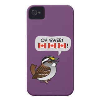 Oh Canadá dulce iPhone 4 Case-Mate Carcasas