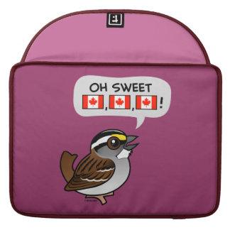 Oh Canadá dulce Funda Para Macbooks