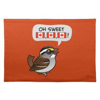 Oh Canadá dulce Manteles