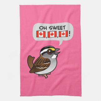 Oh Canadá dulce Toalla