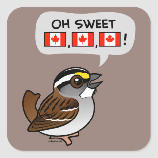 Oh Canadá dulce Colcomanias Cuadradases