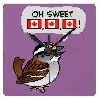 Oh Canadá dulce Reloj