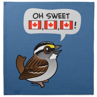Oh Canadá dulce Servilleta De Papel