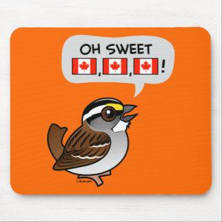 Oh Canadá dulce Tapete De Raton