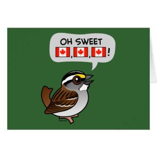 Oh Canadá dulce Tarjetas