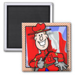 Oh Canada EH! 2 Inch Square Magnet