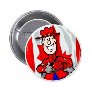Oh Canada EH! Button