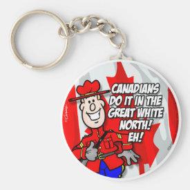 Oh Canada EH! Keychain