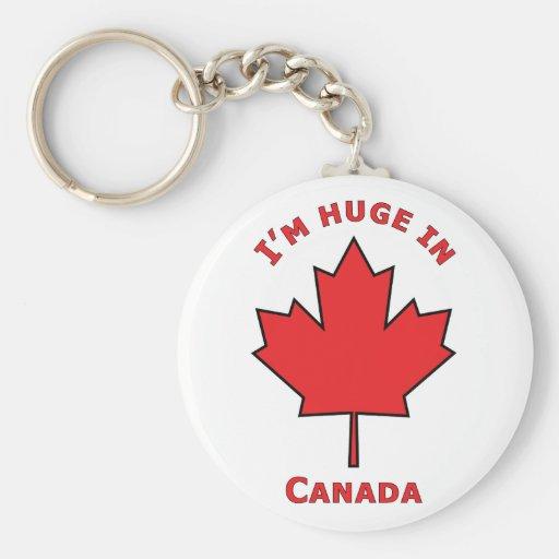 ¡OH Canadá! Llavero Redondo Tipo Pin