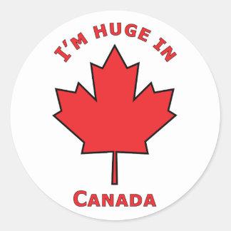 OH Canada! Round Sticker
