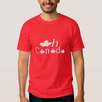Oh Canada T-shirt in Red