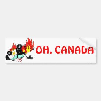 OH, CANADA - Vancouver Riots Car Bumper Sticker